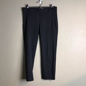 Betabrand charcoal cropped pants medium a1
